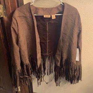 Brand new Wrangler Fringe jacket!